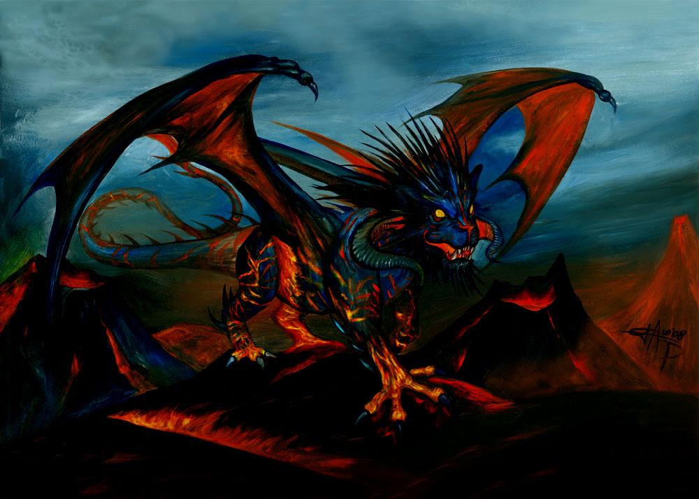Evil Fire Dragon: Dragon